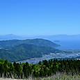 高島市 高島トレイルより琵琶湖・竹生島