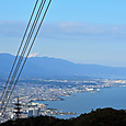 東海道自然歩道の音羽山より